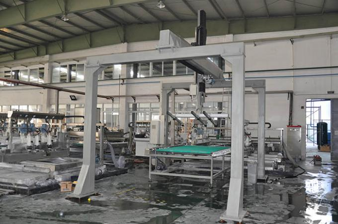 3.75kw Automatic Adjusted Angle Loading glass machinery For Window Glass Production Line