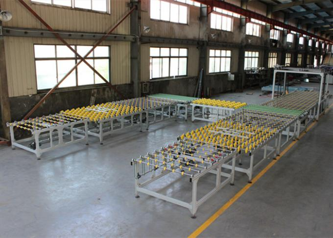 Tempered Glass Transfer and Turning System Full Automatic Connection Line With Conveyor