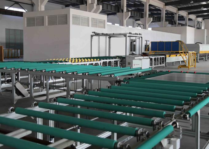 Transfer and Turning Glass Transport Table Line Between Glass Grinding Machine And Furnace