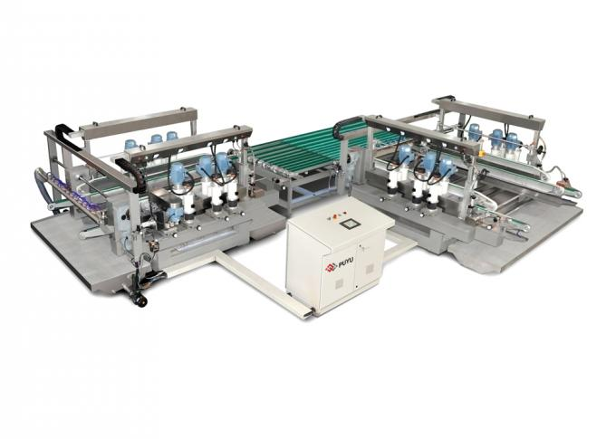 Straight Line Glass Double Edging Machine For High Polishing Requirments