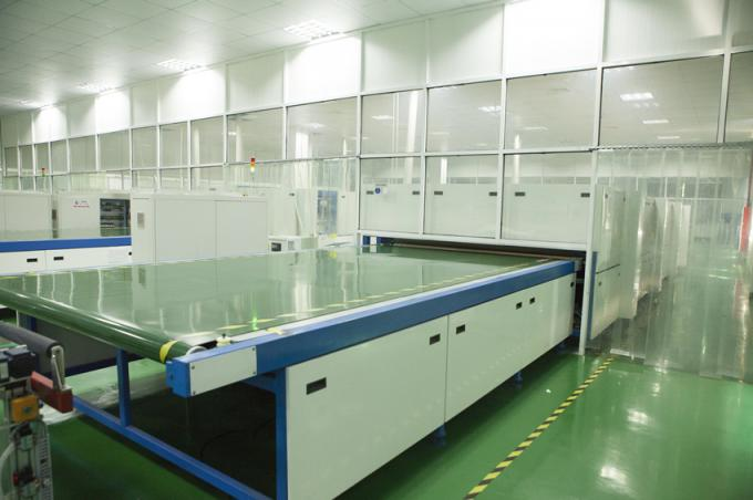 PV Modules Laminated Solar Panel Production Line With Coated Glass EVA Solar Cell Back Sheet
