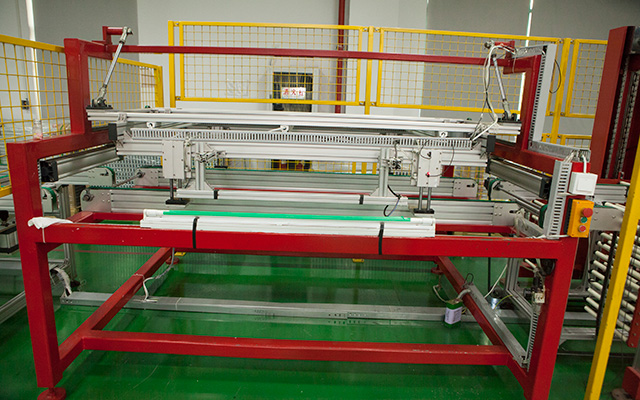 90 Degree Turnover Testing Conver Solar Panel Production Line Automatic On Line Tables