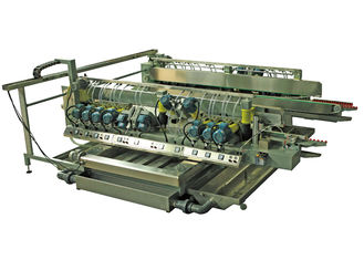 China Glass Straight Line Edging Machine Double Sides Glass Edger For Architecture Glass supplier