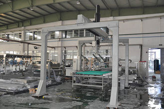 China High Precision Glass Loading Machine Robot Before The Double Edger Processing supplier