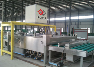 China 3 pairs brush Building Glass Washing and Drying Machine For Windows And Doors supplier