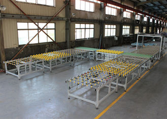 China Tempered Glass Transfer and Turning System Full Automatic Connection Line With Conveyor supplier