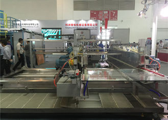 China Flat Architecture Window Glass Straight Line Edging Machine 3 - 19 mm Thickness supplier