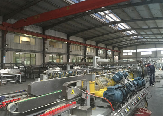 China 20 Spindles Glass Edging Machine Glass Double Edger For Architecture Glass supplier