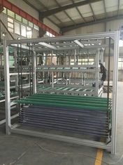 China Horizontal Auto Glass Transfer And Turning Systems 20 Pcs Glass Store supplier