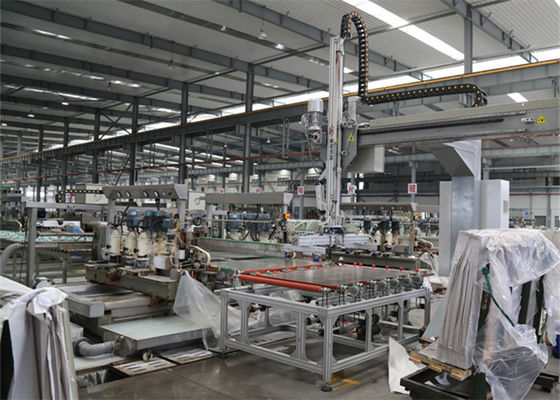 China Auto Solar Panel Making Machine Glass Loader For Solar Glass Production Line supplier