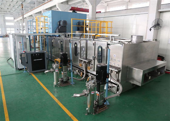 China Bus Curved Glass Cleaning Equipment Bend Glass Washer Machine supplier