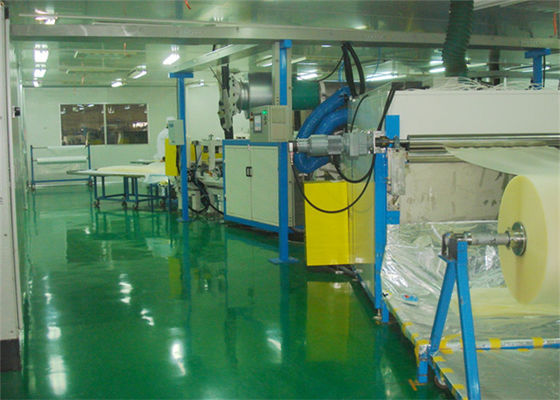 China PVB Film Expansion Processing For Automotive Laminated Glass Production Line supplier