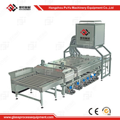 China CE High Speed Solar Panel Making Machine Glass Washing and Drying Machine supplier