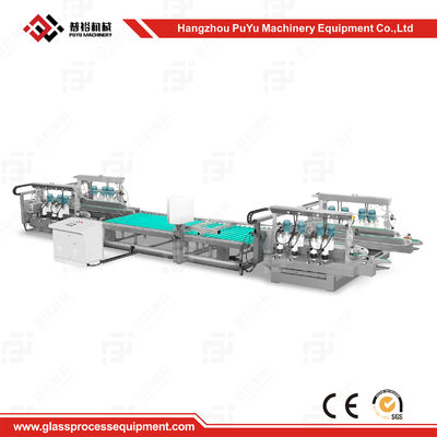 China CE Approval Solar Panel Production Line Glass Straight Line Double Edging Machine supplier