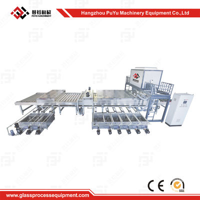 China High Speed Glass Washing Equipment With Rockwell PLC Control supplier