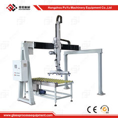China Fully Automatic Flat Glass Handing Equipment Glass Loading Machine With Safety System supplier