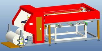 China EVA TPT Film Cutting Laying Solar Panel Production Line Auto PV Module Making supplier