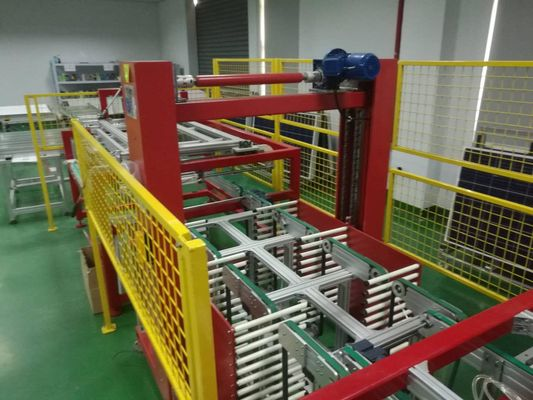 China Automatic PV Modules Buffer Solar Panel Production Plant / Storage Machine supplier