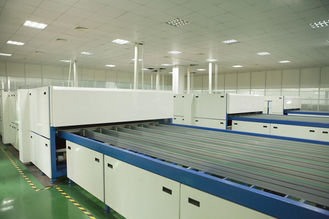 China PV Modules Laminated Solar Panel Production Line With Coated Glass EVA Solar Cell Back Sheet supplier