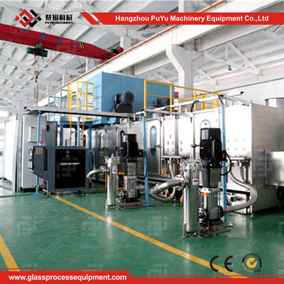 China CE Washing Glass Machine For Curved Windshields , Bend Glass Washer For Passenger Car supplier