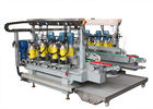 China Stainless Steel Material Glass Straight Line Edging Machine 2500 mm with PLC touch screen company