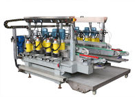 China 1600 mm Round Glass Straight Line Edging Machine With Diamond Wheels company