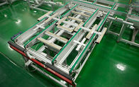 China PV Modules Rotation Conveyor Solar Panel Production Line , Solar Panel Assembly Equipment factory