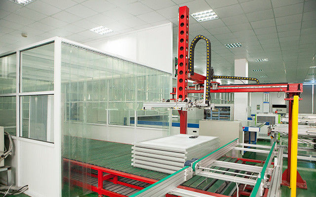 Loading And Unloading Solar Panel Making Machine For Pv