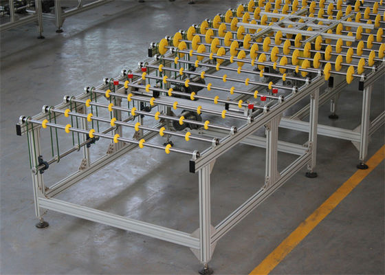 China Glass transfer conveyor systems With Glass Automatic Location System distributor