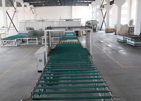 China Automatic Glass Transfer and Turning System , Glass Deep Processing On - line Solutions distributor