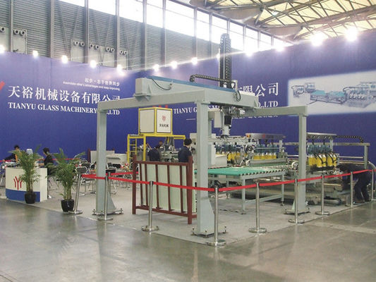 China 4.5kw Large Glass Unloading Equipment For Flat Glass Production Line distributor