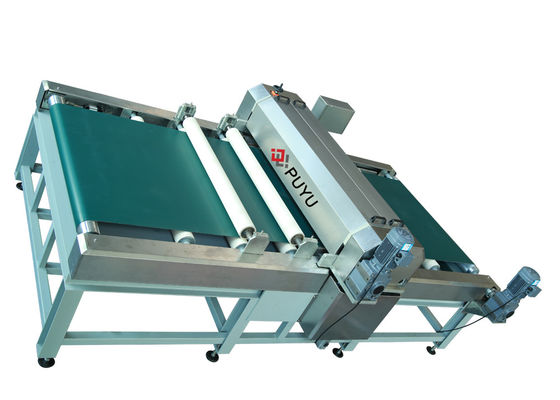 China Automatic Glass Coating Machine Solar Panel Production Line 1200 mm Glass Size distributor