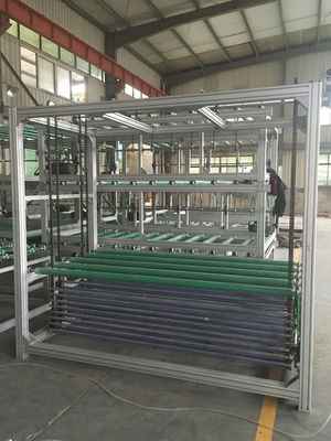 China Horizontal Auto Glass Transfer And Turning Systems 20 Pcs Glass Store distributor