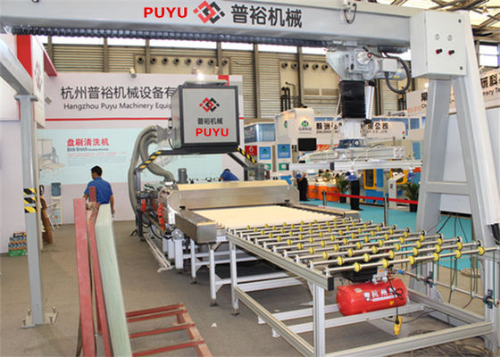 China Durable Glass Washing Machine Production Line Glass Washer Solution factory