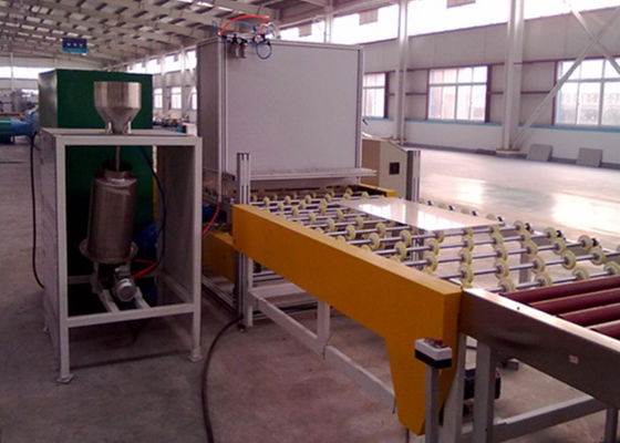 China CE Standard Auto Glass Powdering Glass Production Line Plc Control distributor