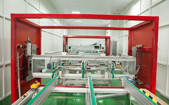China PV Modules Solar Panel Assembly Machine 180 Degree Turnover Testing Conver distributor