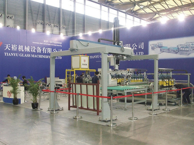 Glass Loading Machine With Servo Motor For Automatic Flat Glass Processing Line